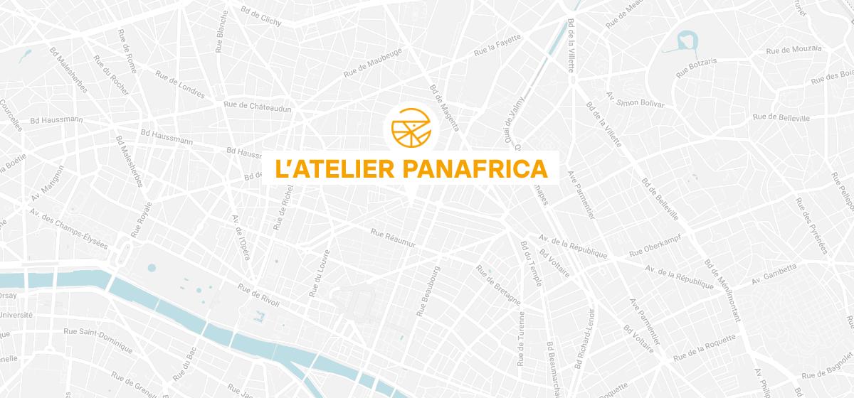Carte Atelier Panafrica